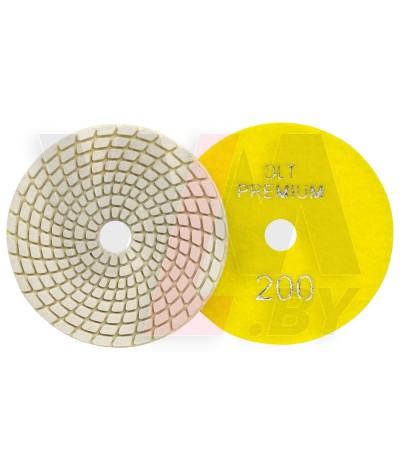 Алмазный гибкий круг (черепашка) ПРЕМИУМ класса Ø100мм, #200