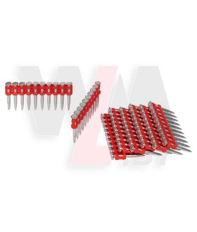 Кованый гвоздь 32 mm DLT Bullet Point по бетону металлу и кирпичу (1000 шт.)